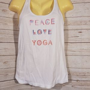 2 for 15 Old Navy White Yoga Tank Top